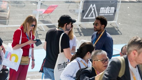 Face-to-face meetings at Midem